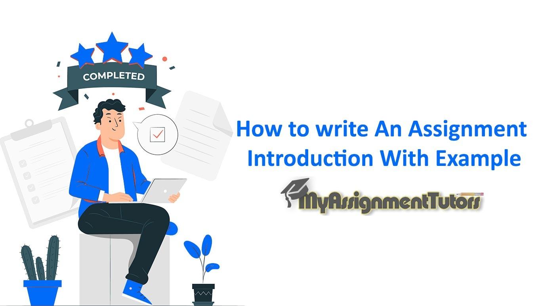 Assignment Introduction Idea for Essay Topics