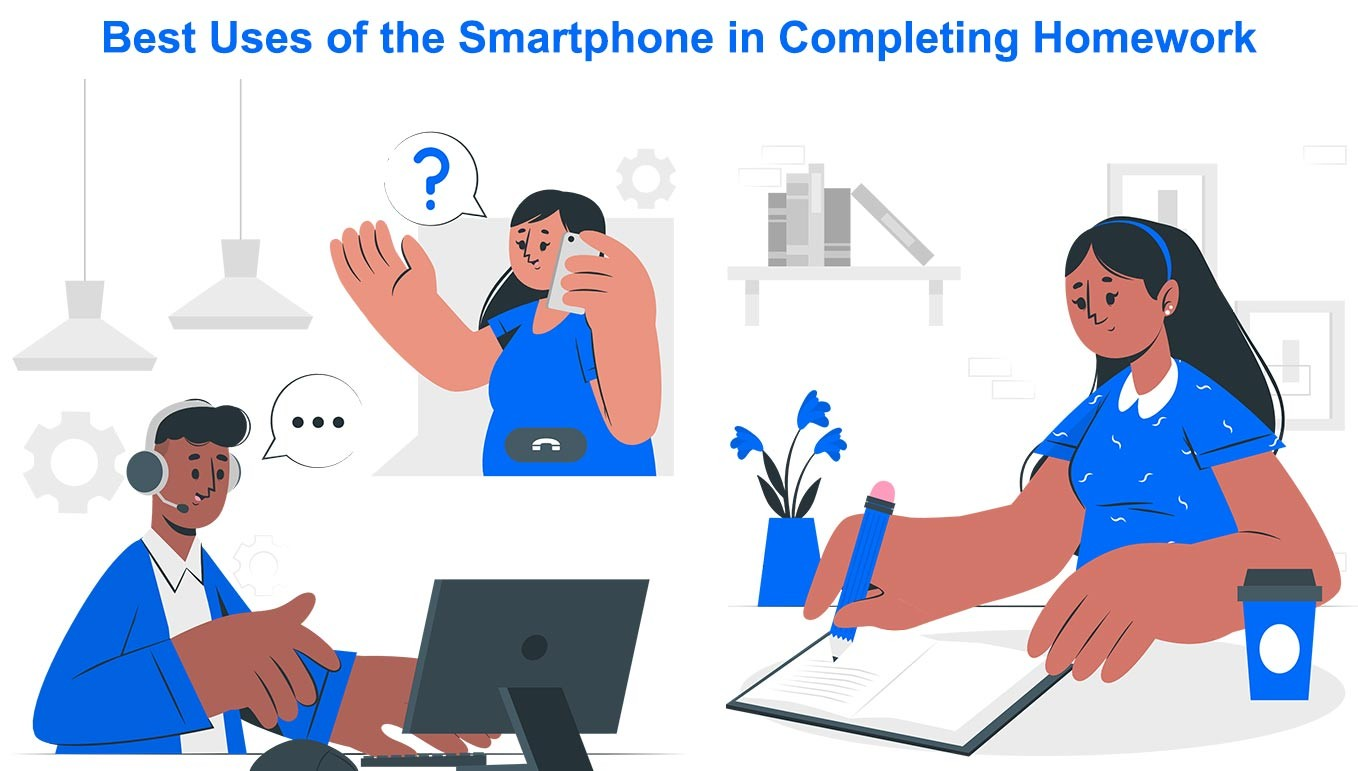 Best Uses Of The Smartphone In Completing Homework